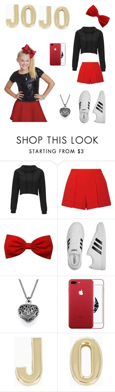 """I love jojo siwa 😙💓💗💞💘👍💑😘😘😘😘"" by rimasb ❤ liked on Polyvore featuring SIWA, Alice + Olivia, adidas and BCBGeneration"