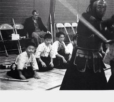 James Dean at a Kendo match in Los Angeles. This was taken the night before he died on September 30,1955.