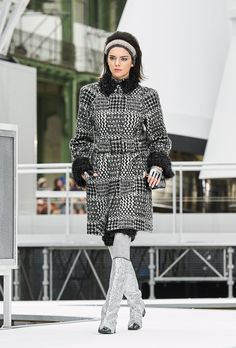 See All 96 Looks From Chanel's Space-Themed Show via @WhoWhatWearUK
