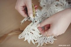 #DIY #lace #summer #top | via www.one-o.it