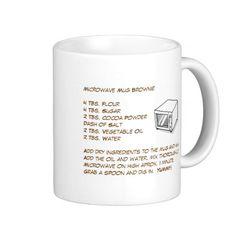 Microwave Mug Brownie