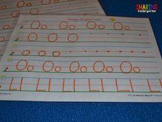letter formation pra