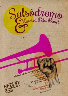 Salsódromo 11 de Noviembre. Café Berlín. Madrid. Pixtorm.com