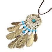 bohojewellery   Necklaces - Isadora Bohemian Dream Catcher