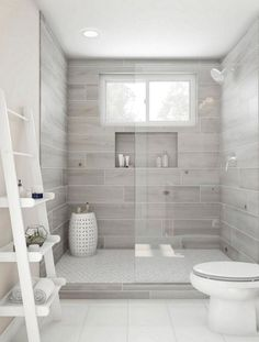 White Subway Tile With Light Grey Grout Home Bathroom