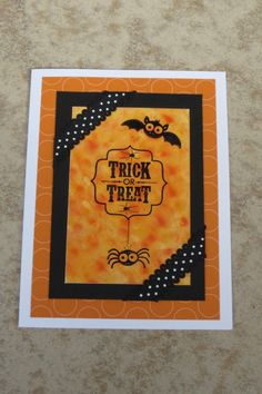 Polished Halloween by AnnetteMac - Cards and Paper Crafts at Splitcoaststampers