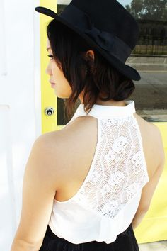 Grandmother's Lace Top