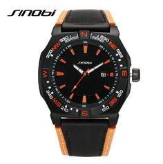 $33.39 (Buy here: https://alitems.com/g/1e8d114494ebda23ff8b16525dc3e8/?i=5&ulp=https%3A%2F%2Fwww.aliexpress.com%2Fitem%2FSINOBI-Luxury-Brand-Watch-Waterproof-30-M-Fashion-Sports-Watch-Men-Military-Watches-Leather-Auto-Date%2F32673240041.html ) SINOBI Luxury Brand Watch Waterproof 30 M Fashion Sports Watch Men Military Watches Leather Auto Date Quartz-Watch Clock Hour for just $33.39