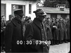 Polish POWs (taken by the Germans during their invasion on Poland in 1939) are marching through the streets of Kalisz in September of 1939 - YouTube