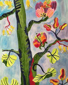 Floral painting by Pamela Jaccarino. pamelajaccarino.com