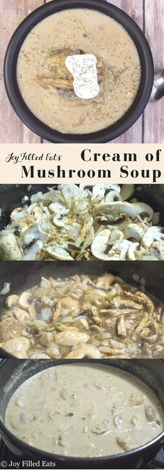 cream of mushroom soup low carb grain gluten free thm s this mushroom soup is rich and creamy with a hint of dill and the tang of greek yogurt