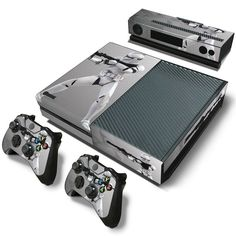 Tag someone who would love this!  http://www.hellodefiance.com/products/silver-stormtrooper-skin-xbox-one-protector?utm_campaign=social_autopilot&utm_source=pin&utm_medium=pin
