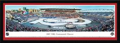 2017 NHL Centennial Classic Panoramic Picture - Toronto Maple Leafs vs. Detroit Red Wings - Select Frame