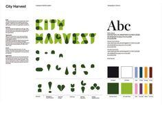 "City Harvest: ""City Harvest Identity System, 2"" Design & Branding  by Berghs School Of Communication"