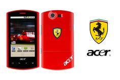 Liquid E Ferrari Special Edition phone