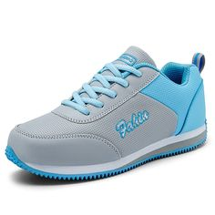 Women's Men's Elevator Shoes Sports Running Fitness Dance Shoes Casual Shoes Valentine's Shoes (8.5B(M)USWomen=EU39 , PU-blue) * To view further for this item, visit the image link.