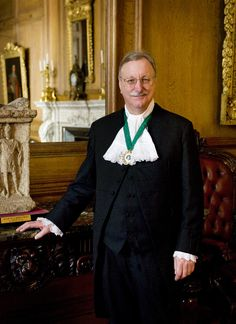 Master Steven Whitaker, holding the ancient title 'Queen's Remembrancer' presides over the 2013 Trial of the Pyx.
