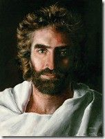 "Akiane Kramariks amazing painting of Jesus her story is amazing and if you haven't read the book ""heaven is for real"" you should pick up a copy ASAP! It's Breathtaking. I started reading it last night and couldn't stop till I finished it a few hours later and boy did it move me.  I am so grateful for the love God shared through his son Jesus Christ for my life and my families lives, It's hard to express into words"