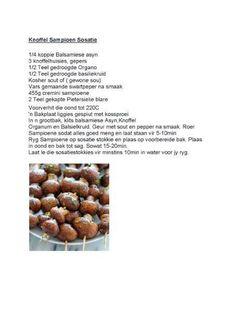 28 Dae Dieet | Mushroom Sosatie
