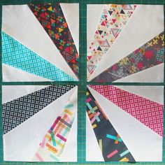 """Tutorial. This is a pattern based on the 1930/1940s block called """"Endless Chain."""" It is awesome in a whole quilt of scraps, which I WILL make some day. So happy to find this tutorial & templates."""