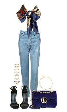 """Untitled #4278"" by theeuropeancloset on Polyvore featuring Vetements, Louis Vuitton, Shoe Cult, Gucci, Forever 21 and SOPHIE by SOPHIE"