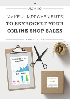 These two big changes to what you're doing now will increase online shop sales in your Shopify (or any) ecommerce site.