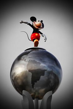 Mickey on top of the world!