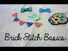 Brick Stitch Basics ¦ The Corner of Craft - Seed Bead Tutorials