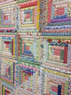 Detail: Colorful Cathedral by Kimberly Einmo and Gina Perkes 2017 ... : daytona beach quilt shops - Adamdwight.com