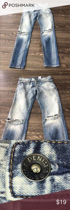 H&M &Denim Men's Jeans H&M &Denim Men's Jeans. Slim Low waist 32x32 H&M Jeans Slim Straight