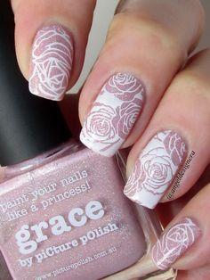 $2.39 Flower Theme Nail Art Stamp Template Image Plate BORN PRETTY BP-L024 12.5 x 6.5cm - BornPrettyStore.com