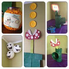 Mario Party DIY ~ really like the fire balls! Neat idea!