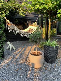 Garden Hammock, Garden Nook, Garden Beds, Home And Garden, Outdoor Spaces, Outdoor Living, Outdoor Decor, Design Patio, Design Design