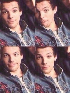 His name is Louis William Tomlinson he's born on December 24th and Harry Styles is his husband ❤