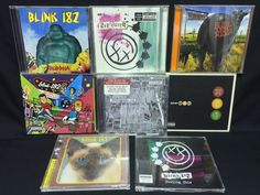 Blink 182 CD/CDs Lot Dude Ranch + Take Off Your Pants and Jacket + Neighborhoods
