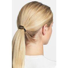 Women's Mrs President & Co 'Bad Mood' Hair Tie - Metallic Silver Hair Accessories, Elastic Hair Ties, About Hair, Ponytail Hairstyles, Boss Lady, Scrunchies, Hair Band, Teen Fashion, Hair Cuts