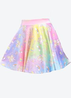 896f160e3c7 Women Plus Size New Items. Magical Galaxy Unicorn Skirt - In Control  Clothing