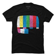 Test Pattern Men's T-Shirt