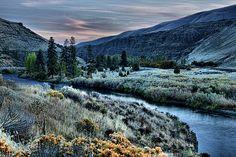 Yakima River below Ellensburg, Washington