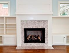 Fireplace Tile Design Ideas slape tile surround simple corner fireplace 1000 Images About Fireplace Ideas On Pinterest Glass Tile Fireplace Fireplaces And Fireplace Remodel