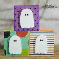 The Wood Connection - Ghost Block Trio, $4.50 (http://thewoodconnection.com/ghost-block-trio/)