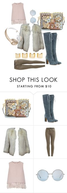 """""""Untitled #262"""" by taggedbykimmie15 on Polyvore featuring Dolce&Gabbana, Etro, VILA, The 2nd Skin Co., Beats by Dr. Dre, Luv Aj, women's clothing, women, female and woman"""