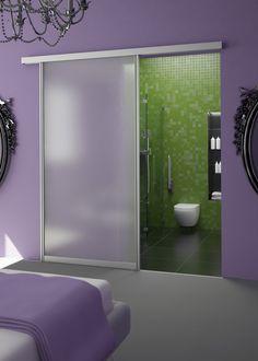 Aluminum Sliding Door Hardware by AluFlex | Custom Sliding Doors [ Specialtydoors.com ] #modern #hardware #specialty #custom