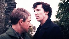 Johnlock gif set. I will go down with this ship.