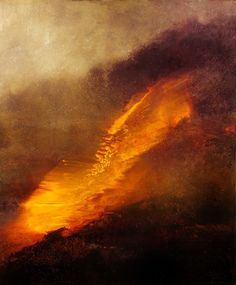 "Saatchi Online Artist: Maurice Sapiro; Oil, 2010, Painting ""The Yellow Cloud"""