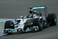 #Mercedes y Nico #Rosberg fueron los mejores de los segundos test de la #Formula1 en Bahréin