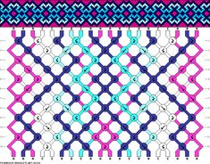Friendship bracelet pattern 86029 new