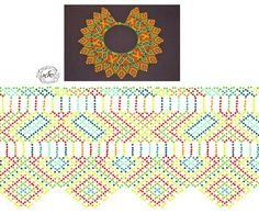 Natali Khovalko Bead Crochet Patterns, Peyote Patterns, Beading Patterns, Diy Necklace Patterns, Beaded Jewelry Patterns, Beading Techniques, Beading Tutorials, Seed Bead Projects, Beaded Crafts