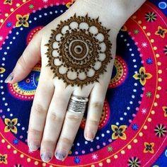 Easy Tikki Mehndi Designs