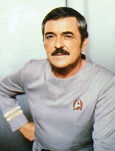 Scotty -- Star Trek TOS   I met Jimmy Doohan at a Convention many years ago.What a grand gentleman.